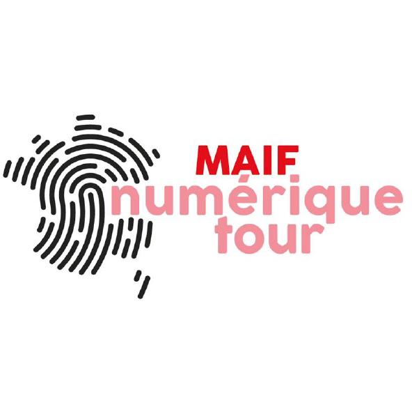 Éducation Digitale - Logo du Maif Numérique tour